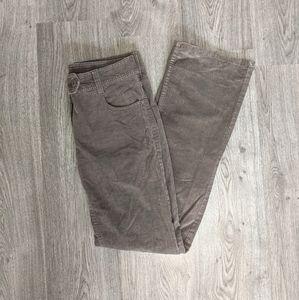 👖H&M Retro-Style Brown Corduroy Pants